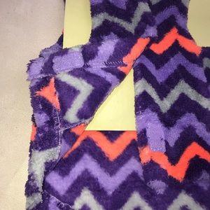Other - Dog Pet Sweater Jacket Purple Zig Zag Stripe Med
